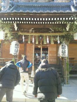 杉田神社へ